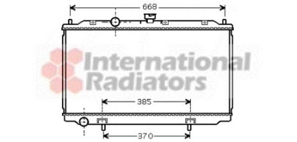 Radiateur, refroidissement du moteur - VAN WEZEL - 13002224