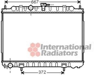 Radiateur, refroidissement du moteur - VAN WEZEL - 13002238