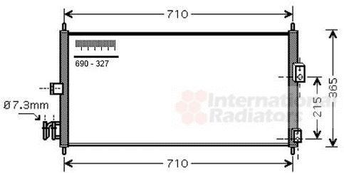 Condenseur, climatisation - VWA - 88VWA13005205