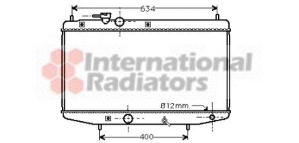 Radiateur, refroidissement du moteur - VAN WEZEL - 11002020