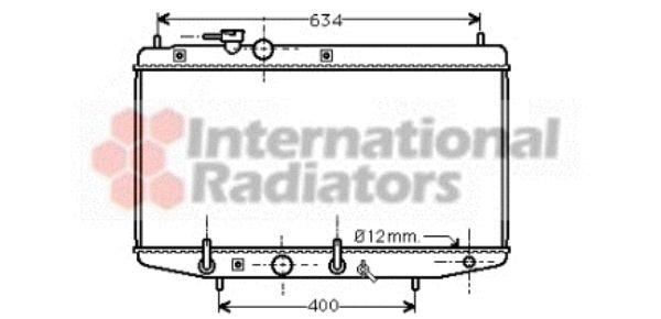 Radiateur, refroidissement du moteur - VAN WEZEL - 11002029