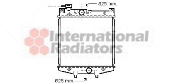 Radiateur, refroidissement du moteur - VWA - 88VWA11002034