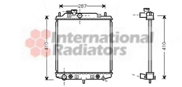 Radiateur, refroidissement du moteur - VWA - 88VWA11002048