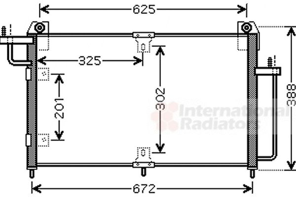 Condenseur, climatisation - VWA - 88VWA81005065