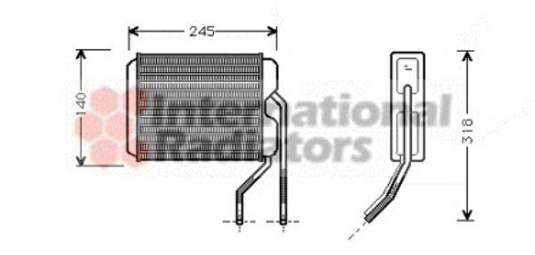 Système de chauffage - VAN WEZEL - 81006026