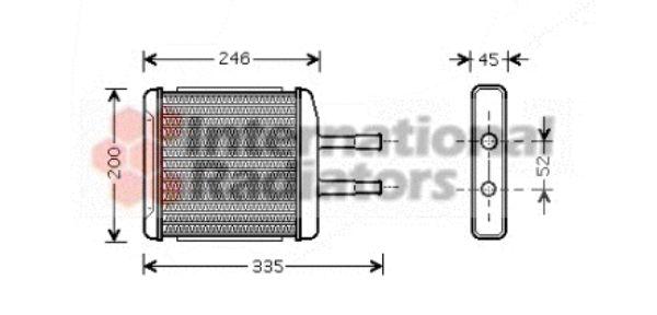 Système de chauffage - VWA - 88VWA81006059