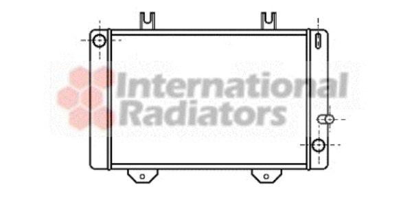 Radiateur, refroidissement du moteur - VAN WEZEL - 18002038