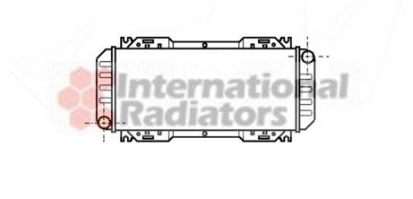 Radiateur, refroidissement du moteur - VAN WEZEL - 18002044
