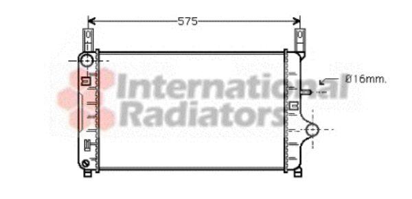 Radiateur, refroidissement du moteur - VWA - 88VWA18002127