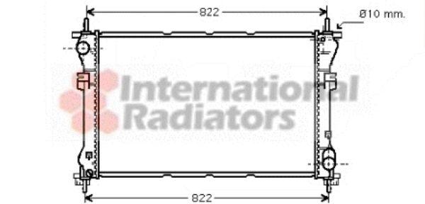 Radiateur, refroidissement du moteur - VAN WEZEL - 18002320