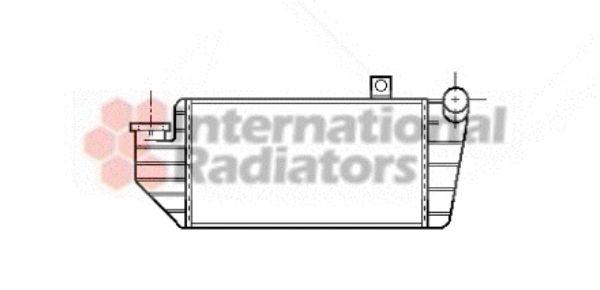 Intercooler, échangeur - VAN WEZEL - 18004084