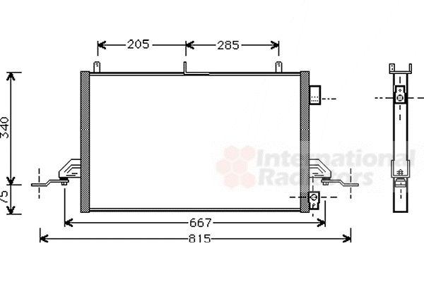 Condenseur, climatisation - VWA - 88VWA18005242
