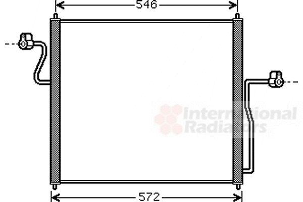 Condenseur, climatisation - VAN WEZEL - 18005358