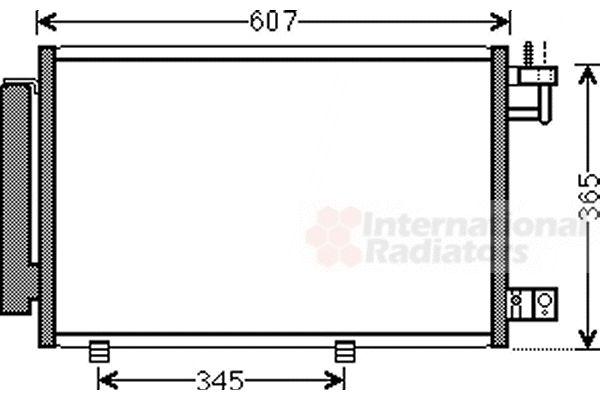 Condenseur, climatisation - VWA - 88VWA18005439