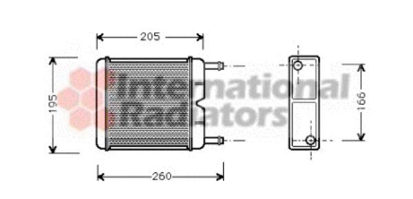 Système de chauffage - VAN WEZEL - 18006130
