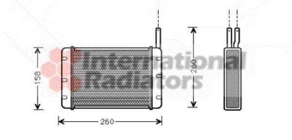 Système de chauffage - VAN WEZEL - 18006131