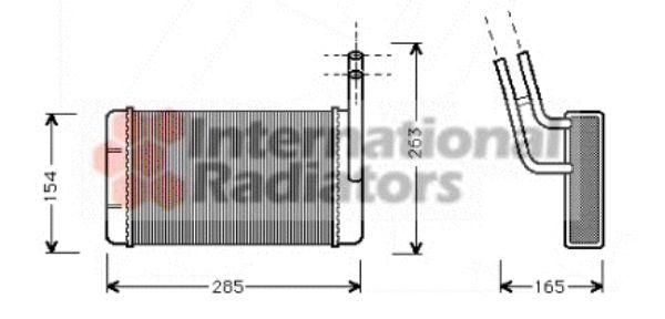 Système de chauffage - VAN WEZEL - 18006163