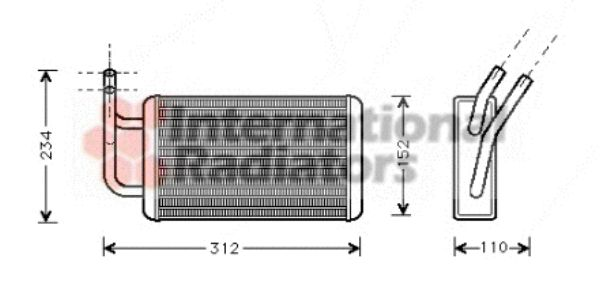 Système de chauffage - VAN WEZEL - 18006215