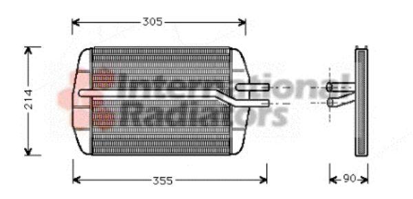 Système de chauffage - VAN WEZEL - 18006216