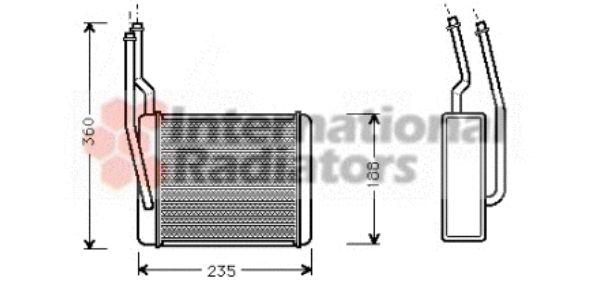 Système de chauffage - VAN WEZEL - 18006272