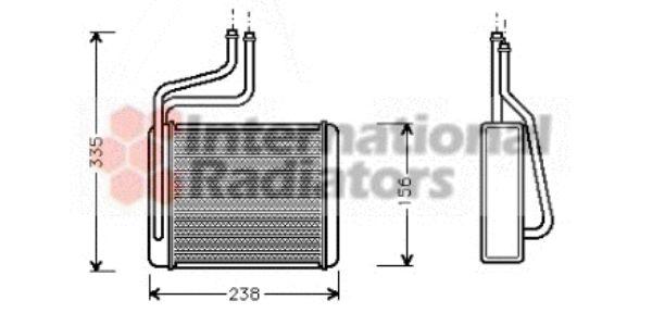 Système de chauffage - VAN WEZEL - 18006286