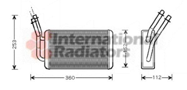 Système de chauffage - VAN WEZEL - 18006316