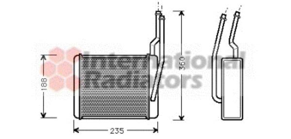 Système de chauffage - VAN WEZEL - 18006356
