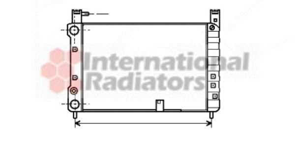 Radiateur, refroidissement du moteur - VWA - 88VWA17002055