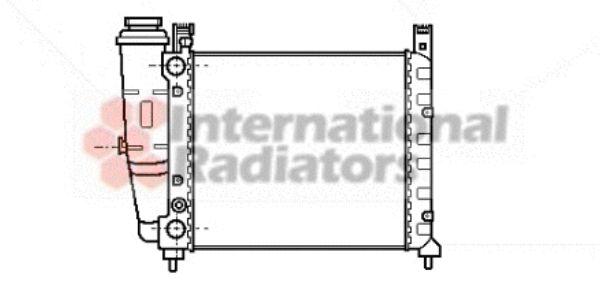Radiateur, refroidissement du moteur - VAN WEZEL - 17002059