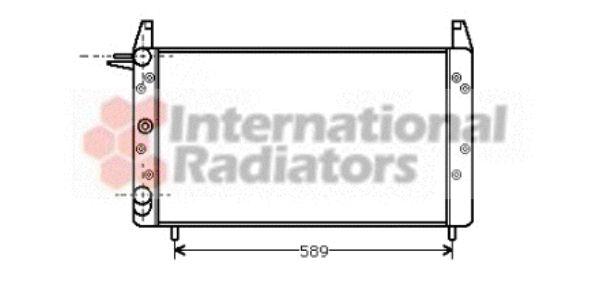 Radiateur, refroidissement du moteur - VWA - 88VWA17002068