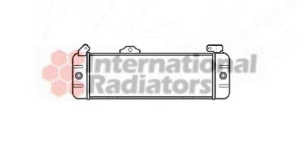 Radiateur d'huile - VAN WEZEL - 17003002