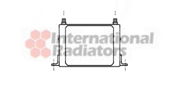 Radiateur d'huile de boite de vitesse automatique - VAN WEZEL - 17003117