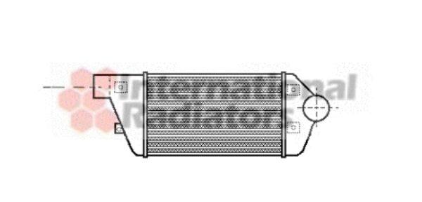 Intercooler, échangeur - VAN WEZEL - 17004114