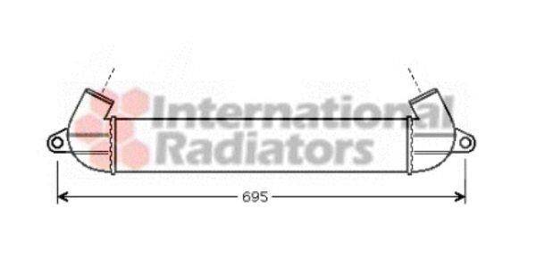 Intercooler, échangeur - VAN WEZEL - 17004271