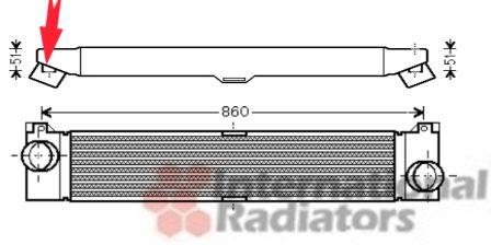 Intercooler, échangeur - VWA - 88VWA17004360