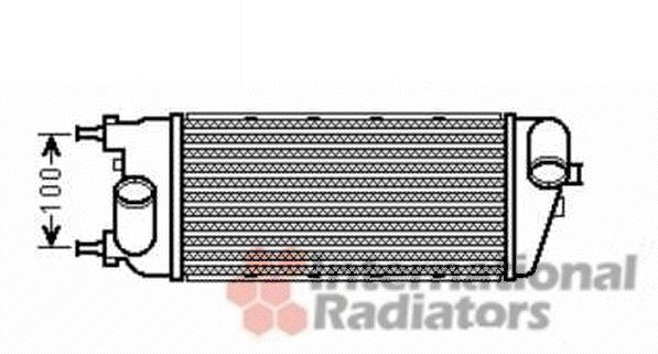 Intercooler, échangeur - VWA - 88VWA17004391