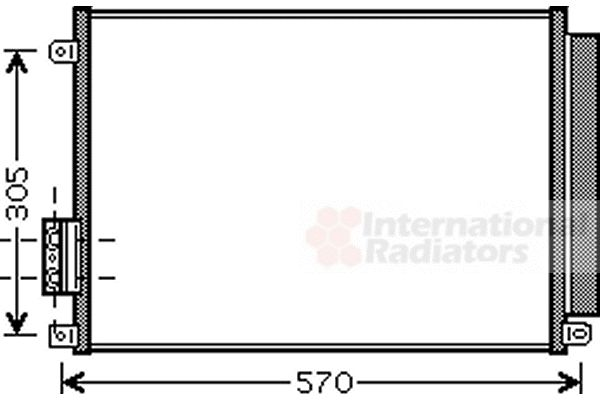 Condenseur, climatisation - VWA - 88VWA17005347