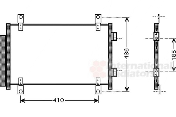 Condenseur, climatisation - VWA - 88VWA17005351