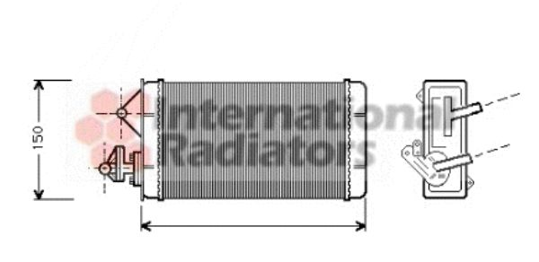 Système de chauffage - VAN WEZEL - 17006087