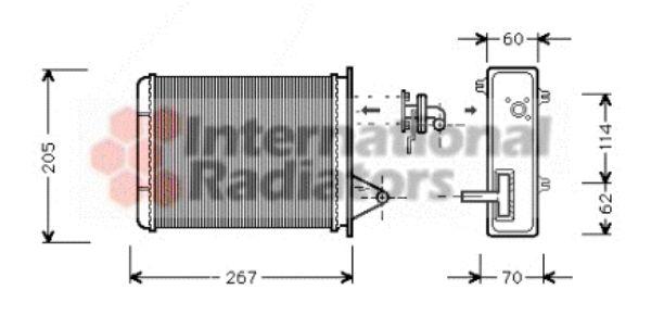 Système de chauffage - VAN WEZEL - 17006089