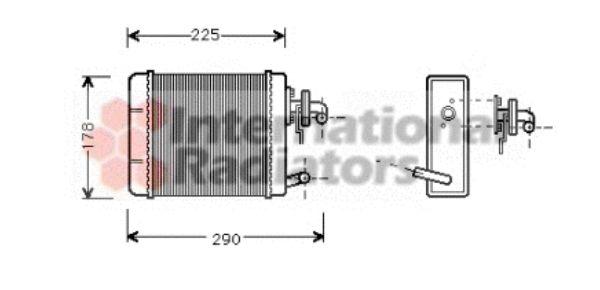 Système de chauffage - VAN WEZEL - 17006102