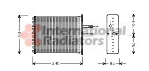 Système de chauffage - VAN WEZEL - 17006193