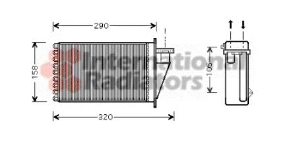Système de chauffage - VAN WEZEL - 17006266