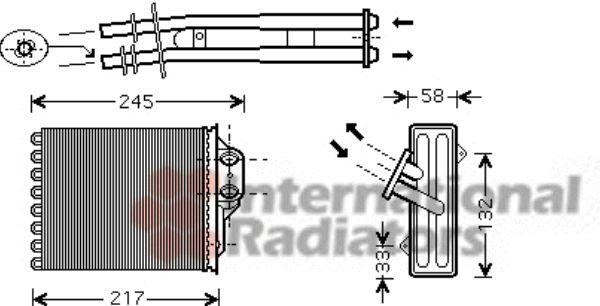 Système de chauffage - VAN WEZEL - 17006350