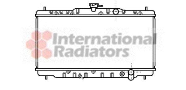 Radiateur, refroidissement du moteur - VAN WEZEL - 25002040