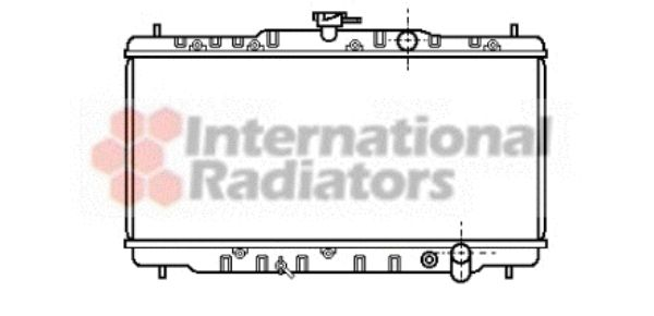 Radiateur, refroidissement du moteur - VWA - 88VWA25002040