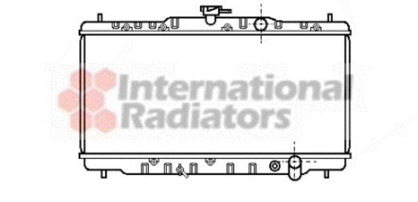 Radiateur, refroidissement du moteur - VAN WEZEL - 25002054
