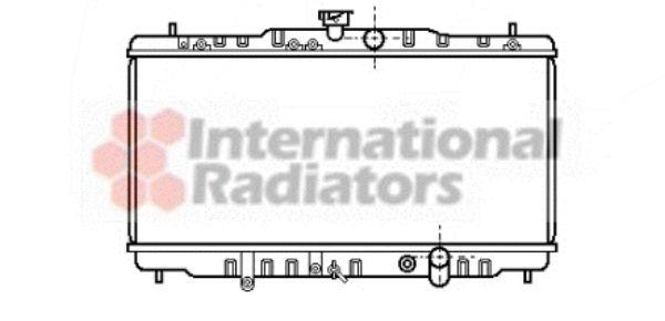 Radiateur, refroidissement du moteur - VAN WEZEL - 25002057