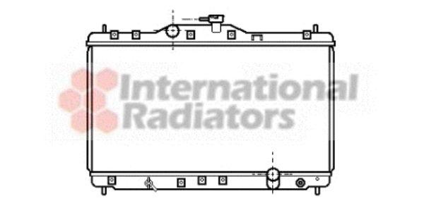 Radiateur, refroidissement du moteur - VAN WEZEL - 25002073
