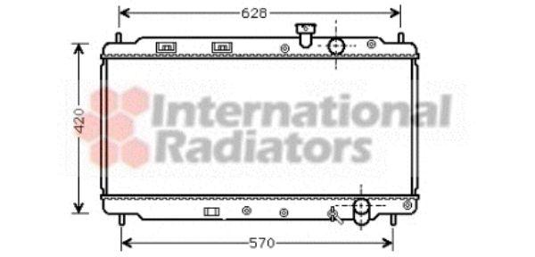 Radiateur, refroidissement du moteur - VWA - 88VWA25002077